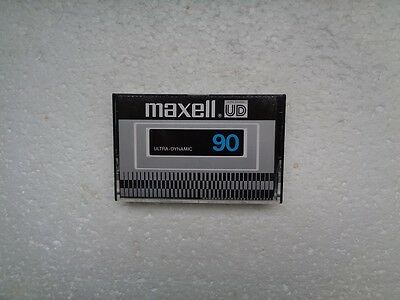Used Audio Cassette MAXELL UD 90 Rare From Japan 1977 - EX Condition