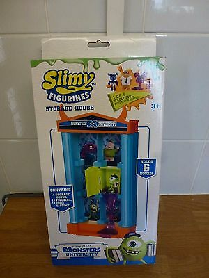 Disney Monsters University Slimy Figures Storage House Brand New