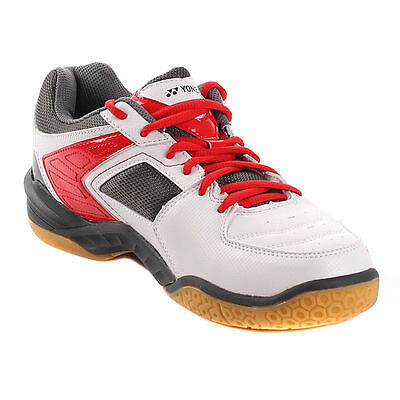 Yonex Power Cushion SHB-46EX Badminton Shoes - White/Red
