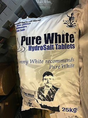25kg Hydrosalt Tablet/Pebble for water softeners and dishwashers