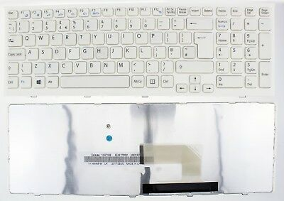 Sony Vaio Vpc-Eh Vpc-Eh2N1E Pcg-71911M Series Keyboard Uk White 148971511 F282