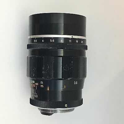 Canon 100mm f2 Leica Thread Mount rangefinder lens (Rare)
