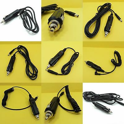 12V 3A / 10A Car Cigarette Lighter 2.1 x 5.5mm Power Plug Adapter Cable 1 to 3m
