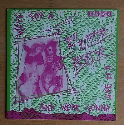 We've Got A Fuzzbox And We're Gonna Use It - Rules And Regulations - 1986 UK 12""