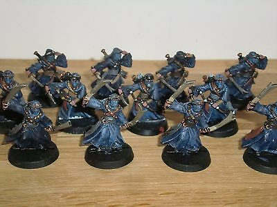 Warhammer Lord of the Rings - Watchers of Karna x 12 - Metal