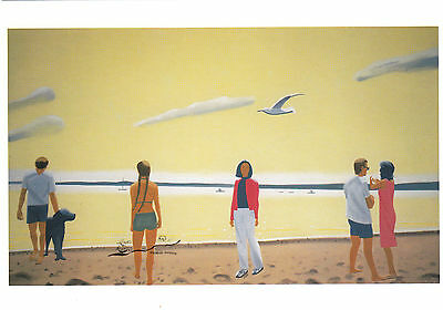 Kunstkarte / Postcard Art - Alex Katz: Penebscot Morning