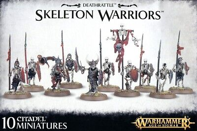 Deathrattle Skeleton Warriors Games Workshop 99120207040 Warhammer Age Of Sigmar