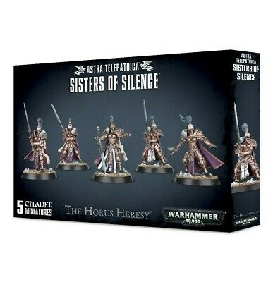 Astra Telepathica Sisters Of Silence Games Workshop 99120108007 Warhammer 40,000