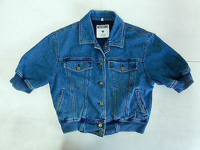 Moschino Jeans Vintage Jacket Giacca Coat