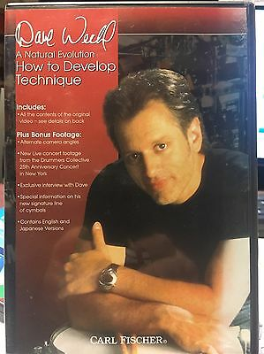 Dave Weckl How To Develop Technique. Drums.