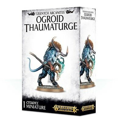 Tzeentch Arcanites Ogroid Thaumaturge Games Workshop 99120201062 Age of Sigmar