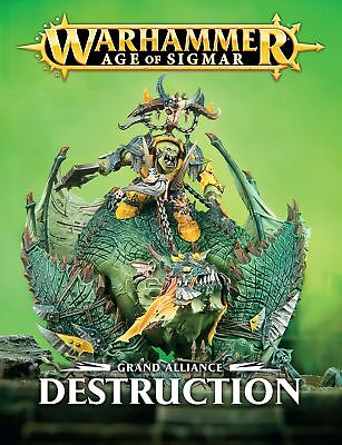 Grand Alliance Destruction - English Games Workshop 60040299059 Age of Sigmar