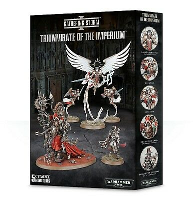 Triumvirate Of The Imperium Games Workshop 99120108008 Warhammer 40,000 New