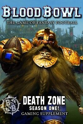 Blood Bowl Death Zone: Season 1 Games Workshop 60040999002 Blood Bowl New in Box