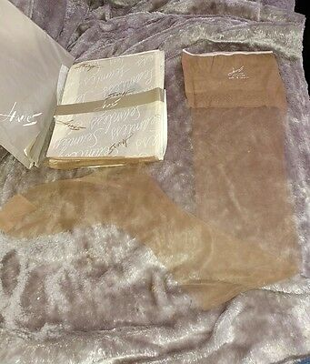 Hanes demi-toe all nylon vintage stockings size 9 Medium