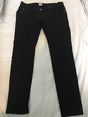 Next Under The Bump Size 12 Black Skinny Maternity Jeans