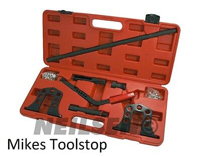 One-Man Operated Valve Spring Compressor Kit For Petrol Or Diesel Engines