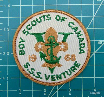 Vintage Boy Scouts of Canada S S S/SSS Adventure 1968