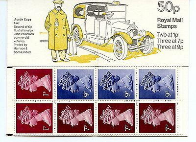 .gb   Folded  Booklet 1978  Commercial Vehicles  Series Sg Fb3/9