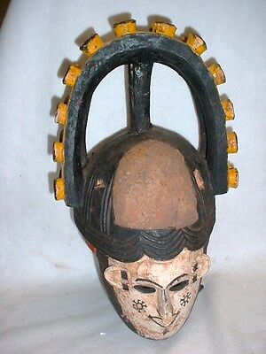 Amazing Agbogho Mmuo Ibo Igbo Maiden Spirit Mask Appraised In 2005 For $3250