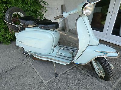 Lambretta Li125 1962 Series 3. Excellent condition. Engine + mechanics rebuilt.