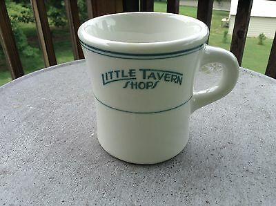 Vintage Genuine Little Tavern Shops Coffee Mug McNicol China