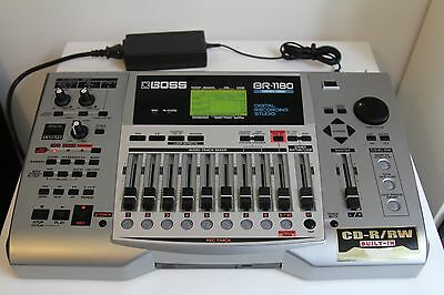 Boss BR1180CD 8 Track Digital Recorder & CD Burner