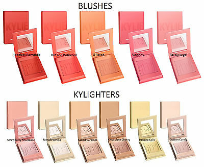 Original Kylie Jenner Kylighters Blush Rouge Powder Highlighter 6 Colors
