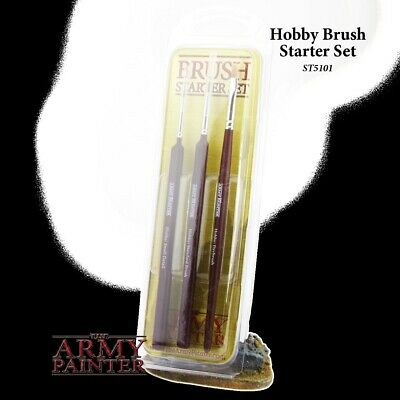 Army Painter Starter Brush Set Army Painter  Brand New in Box AP-ST5101