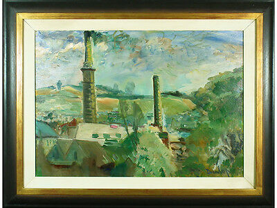 * SALE * Cornish Tin Mines by Ronald Ossory Dunlop - Original Oil. Listed Artist