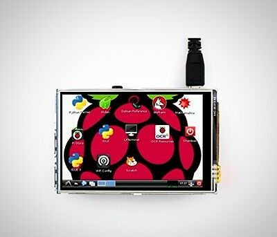 Waveshare Raspberry Pi 3.5 Inch Touch Screen TFT LCD (A) 320*480 For Raspberry