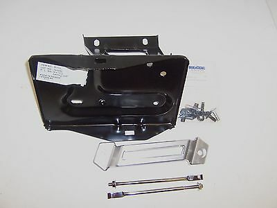 1967 1970 Mustang battery tray & billet hold down installation kit.With hardware