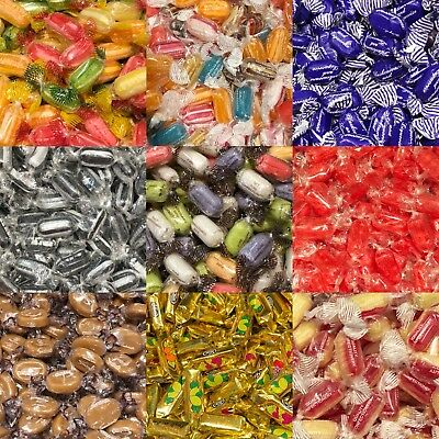 PICK and MIX QUALITY ASSORTED WRAPPED SWEETS * Toffees * Mints  * Boiled Sweets