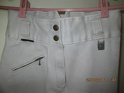 Nice RIDING breeches SZ 28 BAUMWOLLE cotton made in INDIA. Perfect for training.