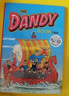 1988 The Dandy Book good condition 50 years young