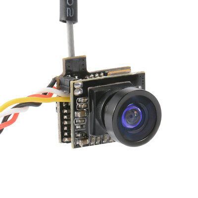 5.8G 25MW 48CH AIO 800TVL FPV Camera 120 Degree Transmitter with OSD Suite RC604