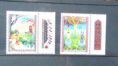 Macedonia 1997 Europa Tales and Legends set MNH