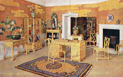 The Queen's Doll's House Her Majesty's Boudoir Tuck Oilette Postcard 4503