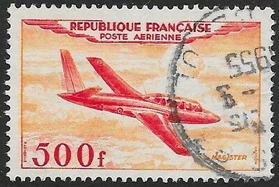 FRANCE: 1954 AIRS, 500f, fine used