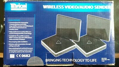 TEVION  VISION WIRELESS VIDEO/AUDIO SENDER BOXED new