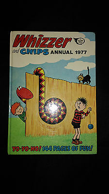 Whizzer And Chips Vintage Annual 1977