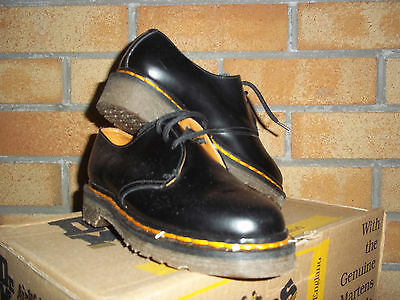Original Dr Martens Kids  Black MIE Size 1  Mod Ska Northern Soul