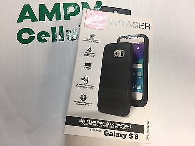 NIB Pelican Voyager for Samsung Galaxy S6 Black 4 Layer Protection. Case Cover