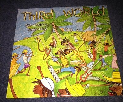 Third World - The Story's Been Told LP. Reggae
