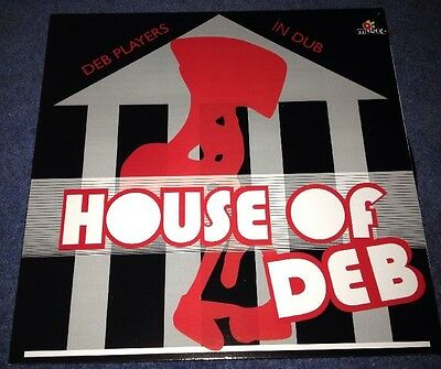 Deb Players In Dub - House Of Deb. LP. Reggae.