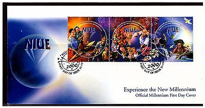 Niue The New Millennium First Day Cover. 2000. Postmarked. #1025