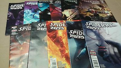 13 Spider-Man 2099 Comic Lot issues 2, 6-9, 11,12,14,17-19,24,25 Nice Run vf/nm+