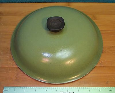 """Club Aluminum 10"""" Dutch Oven/Skillet Dome Lid Replacement Green-LOOK"""
