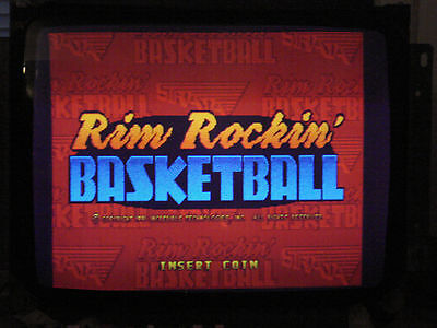 Rim Rockin' Basketball PCB Tested Working In Excellent Condition