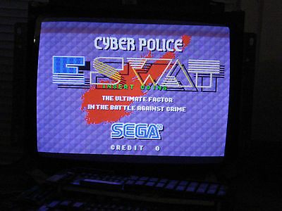 Cyber Police Eswat PCB Tested Working In Excellent Condition